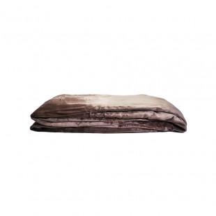 MANTA K 275X229CM CHOCOLATE MICROPLUSH POLY