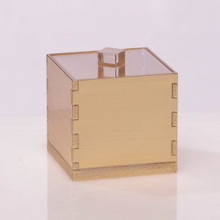 ALGODONERA  COTTON BOX DORADA CUADRADA