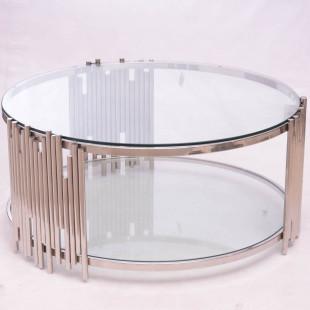 MESA DE CENTRO C/CLEAR GLASS