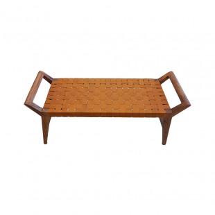 Banqueta lateral en madera 112CMX41CMX47CM