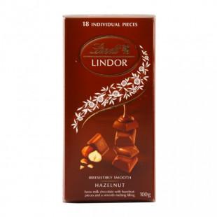 Chocolate con leche Lindt Lindor Tabla Leche Con Avellanas 1