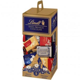 Chocolate surtido Lindt Naps Mini Tablas Chco Surtidos 350gr