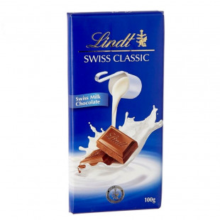Chocolate con leche Lindt Swiss Tabla Chocolate Con Leche 10