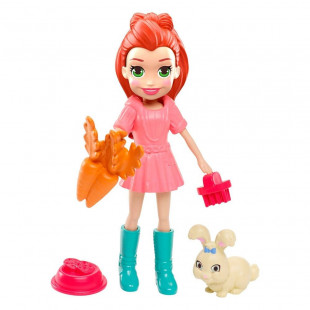 POLLY POCKET LILA Y SU CONEJITO