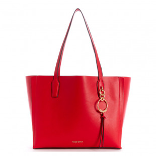 HANDBAGS RING LEADER TOTE LIPSTICK RED