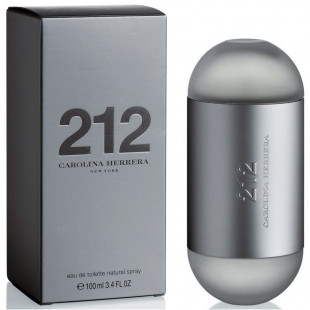CAROLINA HERRERA 212 EDT FEM 100ML