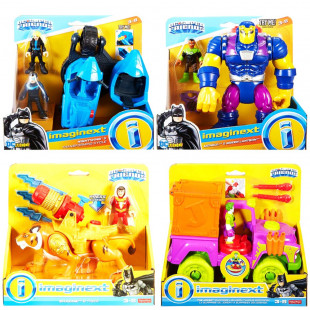 FIGURAS SURTIDAS VEHICULOS FISHER PRICE SUPER FRIE