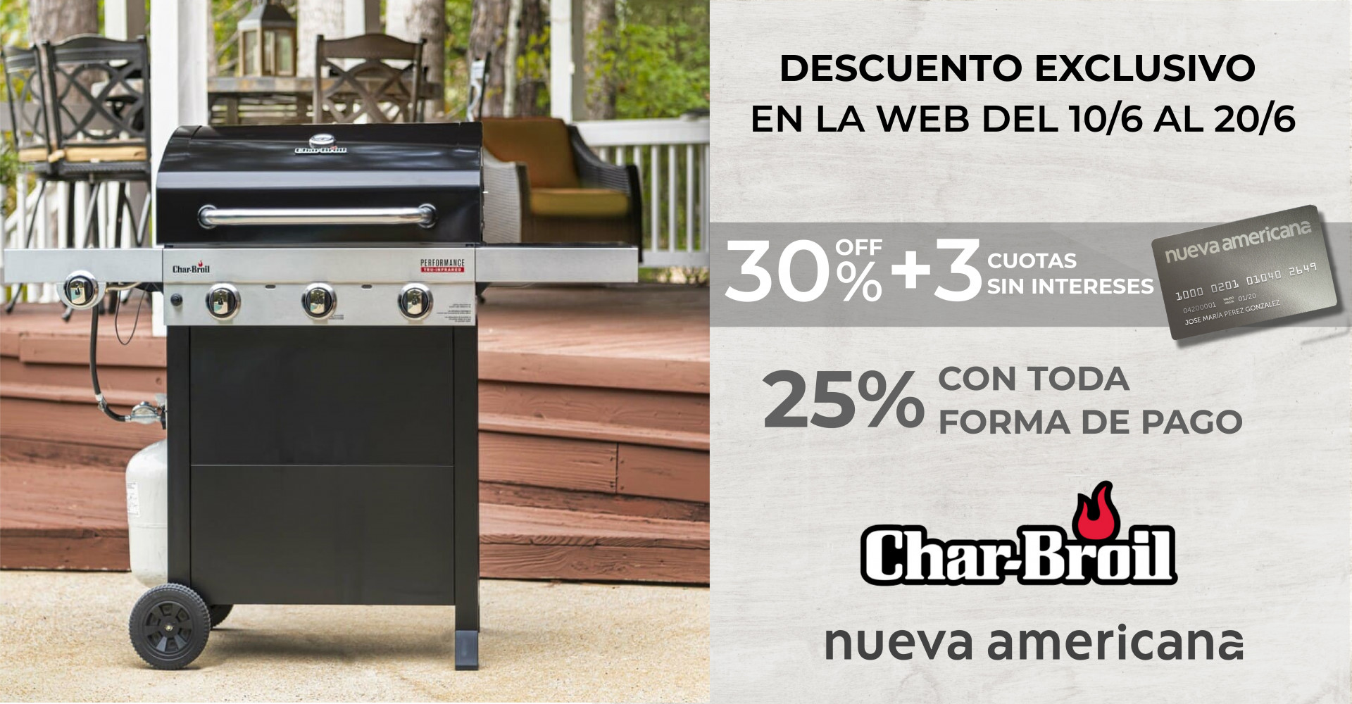 Descuento charbroil